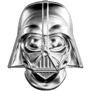 Niue Island DARTH VADER HELMET series SUPERHEROES MASKS $5 Silver coin 2019 Antique finish 2 oz